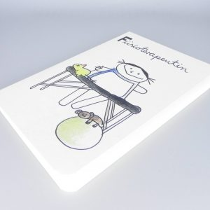 Physiotherapeutin Notizbuch