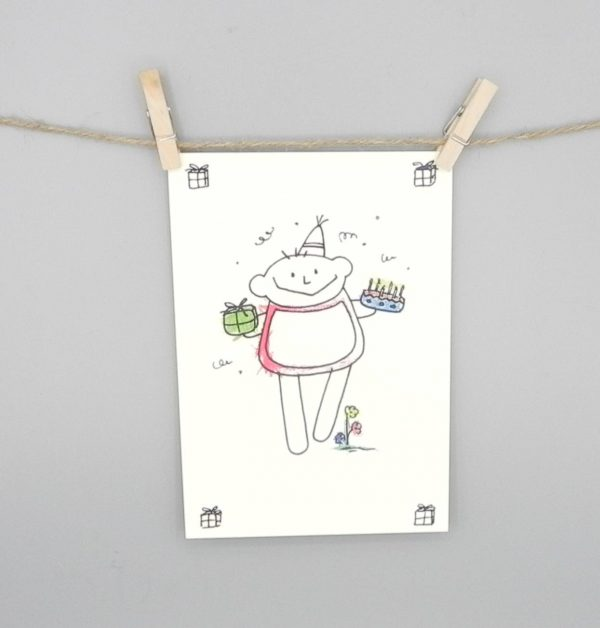 Geburtstagskarte Junge