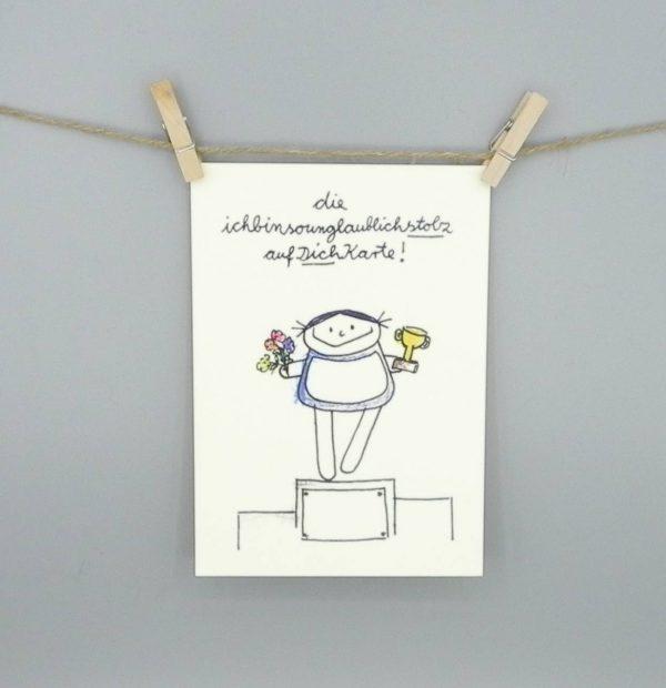 Gratulationskarte