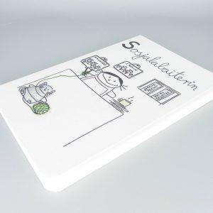 Sozialarbeiterin Notizbuch