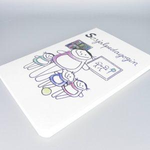 Sozialpädagogin Notizbuch