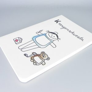 Krankenschwester Notizbuch
