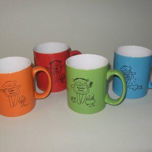 Tassenset Kaffee und Tee