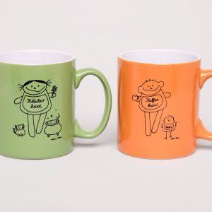 Kaffee und Tee Tassen Set