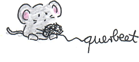 Maus mit Wollknäul