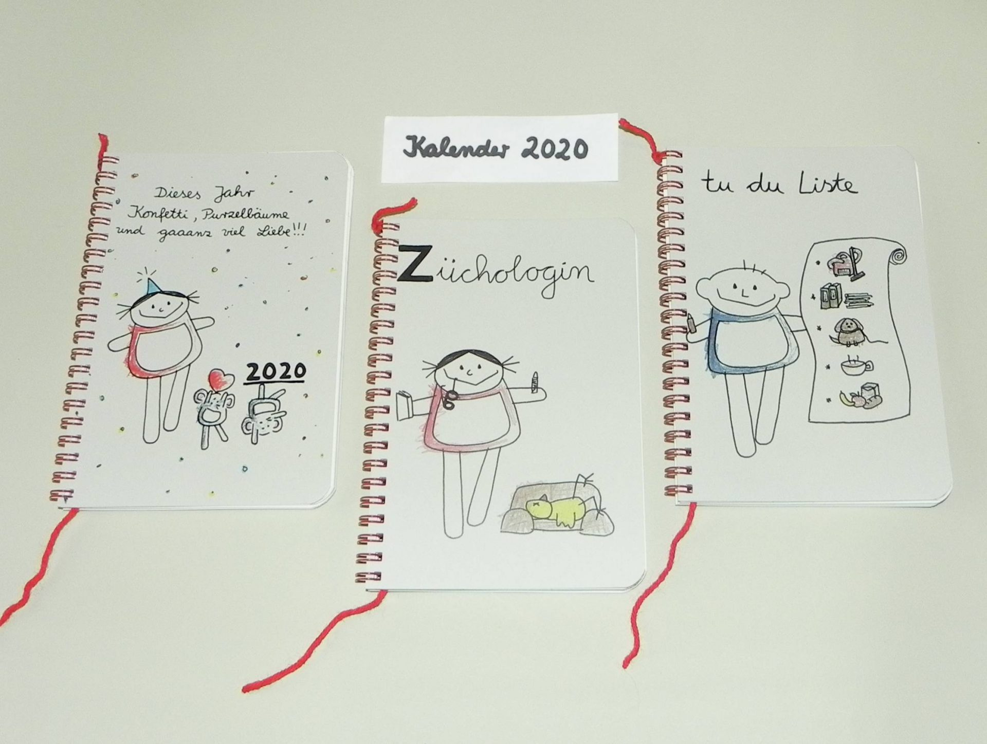 nini san kleine Kalenderauswahl für 2020