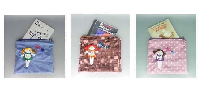 nini san Kulturtaschen für Bücher