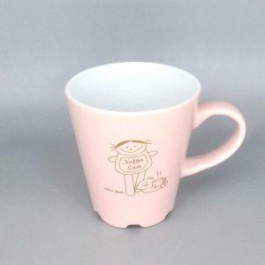 Kaffeeliese Kaffeetasse in rosa